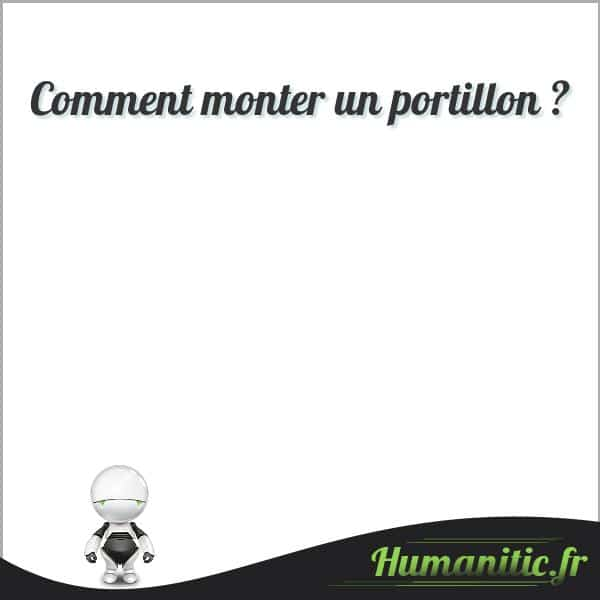 Comment monter un portillon ?