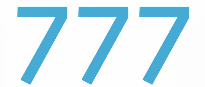 Que peut bien vouloir dire 777 en numérologie angélique?